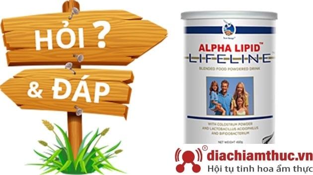 Sữa non Alpha Lipid Lifeline có tốt không