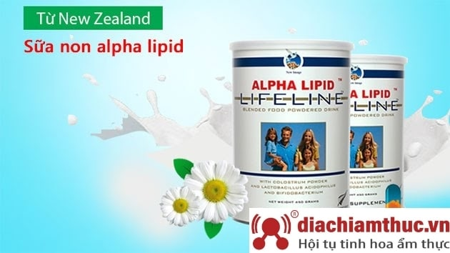 Sữa non Alpha Lipid Lifeline giá bao nhiêu