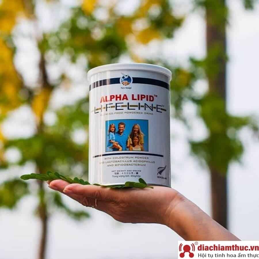 Thông tin chi tiết về sữa non Alpha Lipid Lifeline