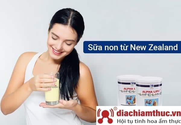Tiêu chuẩn 4 thấp sữa non Alpha Lipid Lifeline