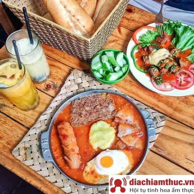 Tổng hợp quán bánh mì chảo Hà Nội