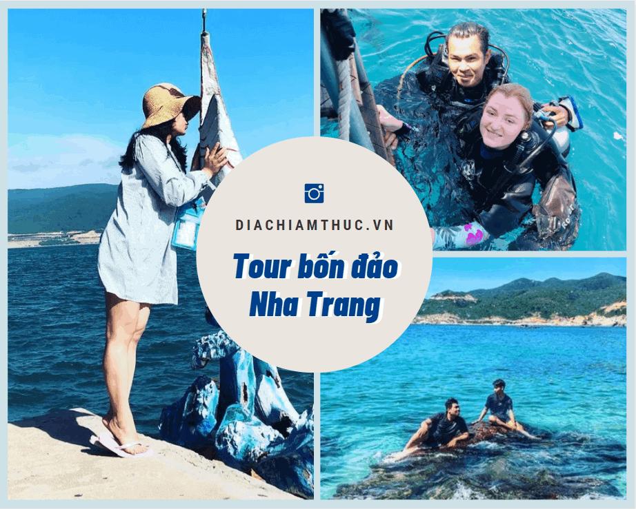 Tour 4 đảo Nha Trang.