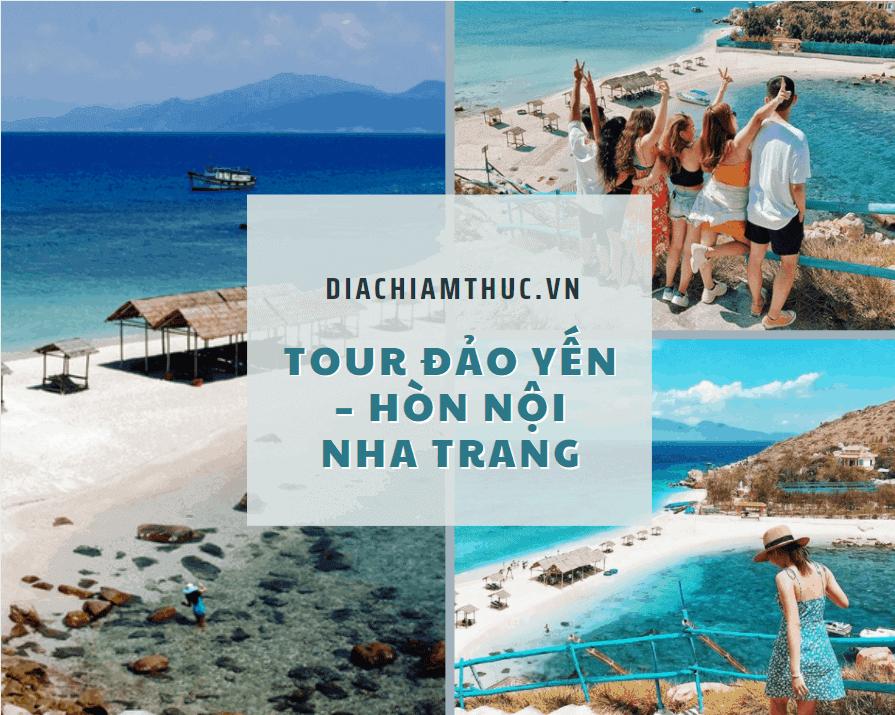 Tour Đảo Yến – Hòn Nội Nha Trang