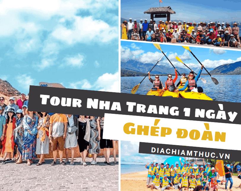 Tour Nha Trang 1 ngày ghép đoàn