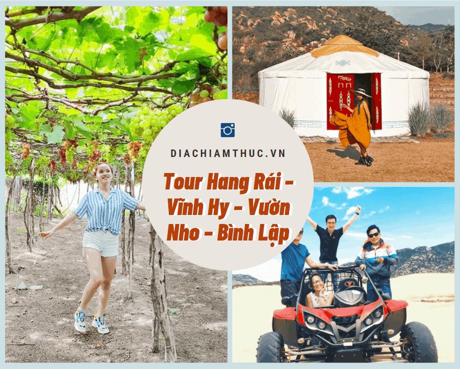 Tour Tanyoli – Hang Rái – Vườn nho Ninh Thuận