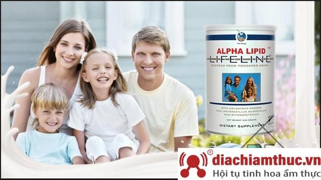 Xuất xứ sữa non Alpha Lipid Lifeline