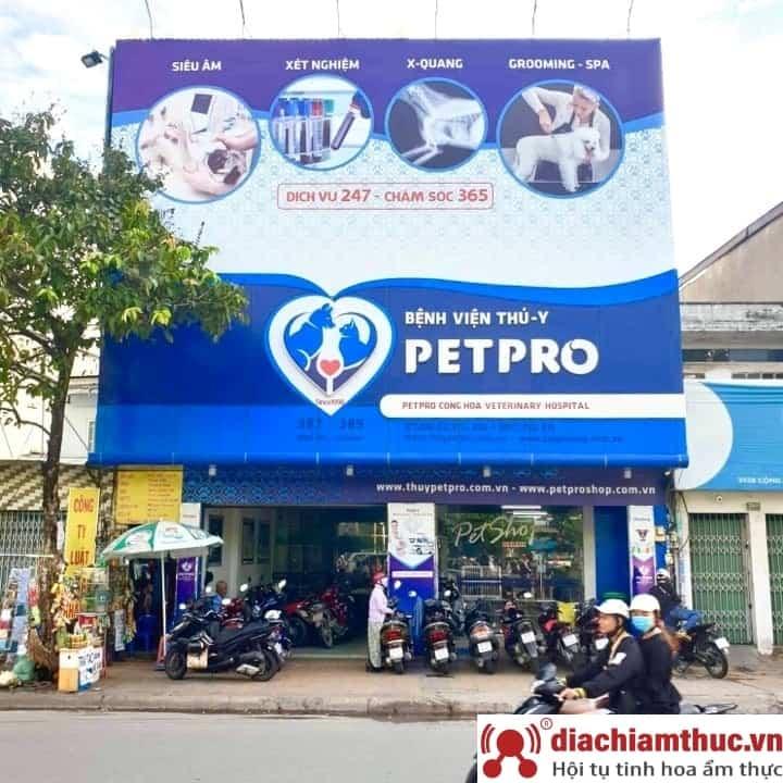 Bệnh Viện Thú Y Petpro