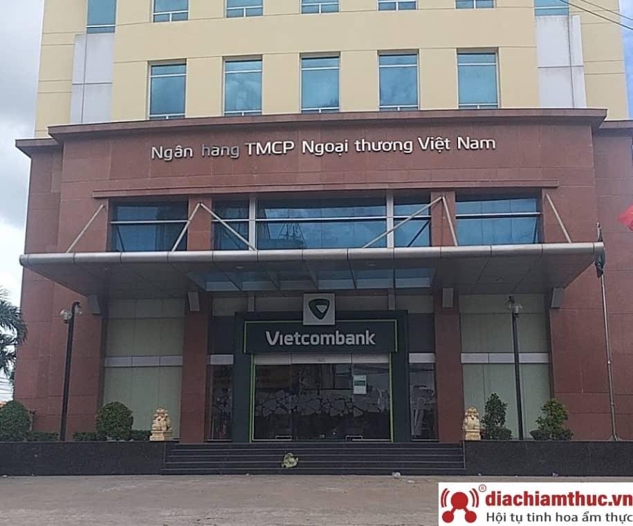 Chi nhánh PGD Vietcombank gần nhất ở Bình Dương