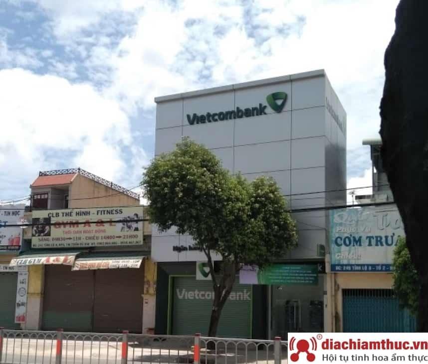 Chi nhánh PGD Vietcombank gần nhất ở Củ Chi