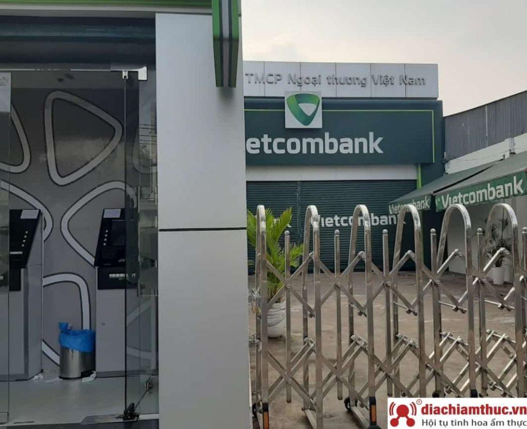Chi nhánh PGD Vietcombank gần nhất ở Hóc Môn