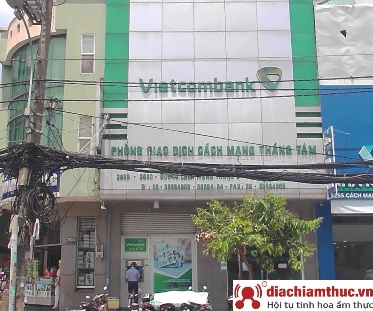 Chi nhánh PGD Vietcombank gần nhất ở quận 10