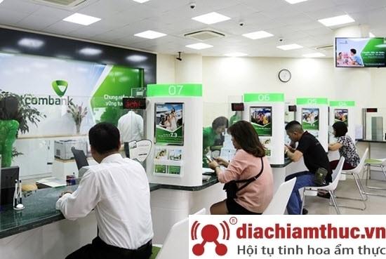 Chi nhánh PGD Vietcombank gần nhất ở quận 7