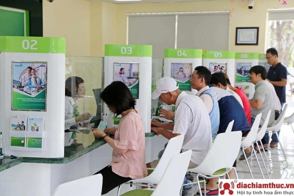 Chi nhánh PGD Vietcombank gần nhất ở quận 8