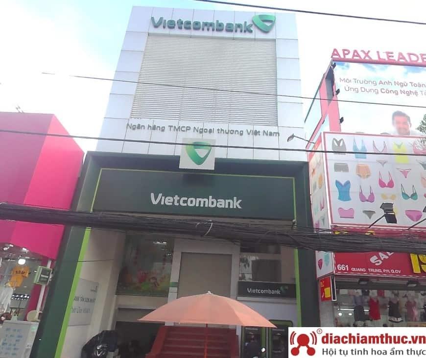Chi nhánh PGD Vietcombank gần nhất ở quận Gò Vấp