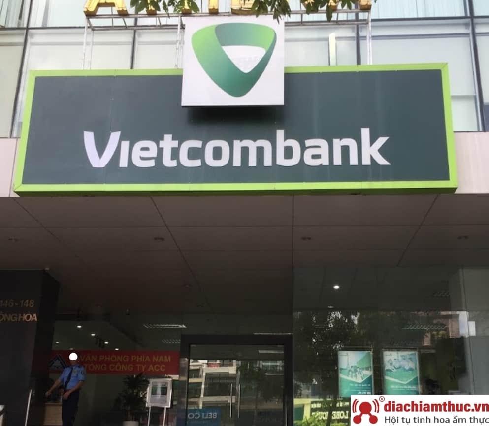 Chi nhánh PGD Vietcombank gần nhất ở quận Tân Bình