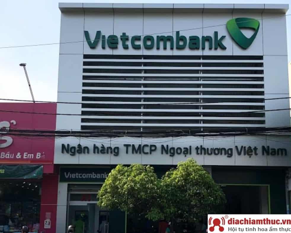 Chi nhánh PGD Vietcombank gần nhất ở quận Tân Phú