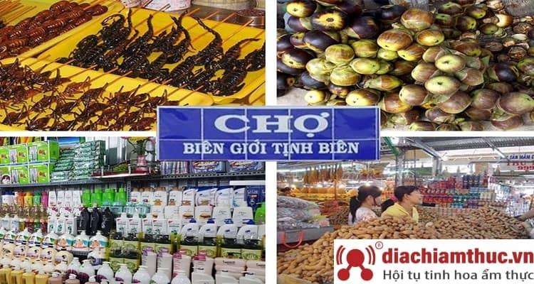Chợ Tịnh Biên - Chợ biên giới