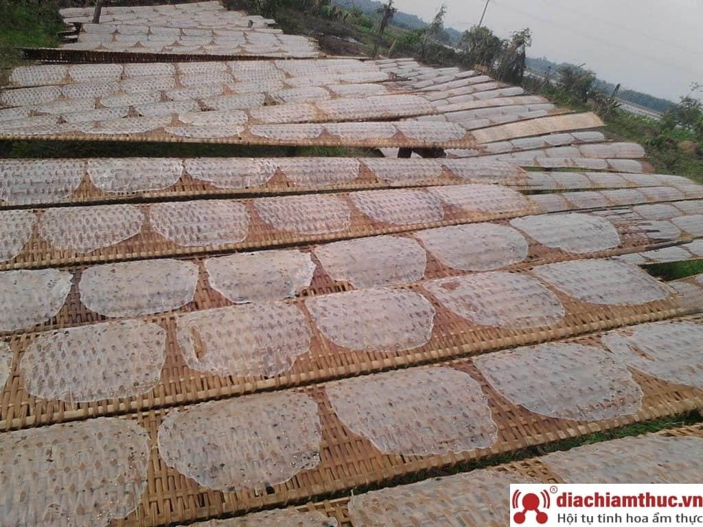 Cơ sở sản xuất bánh tráng