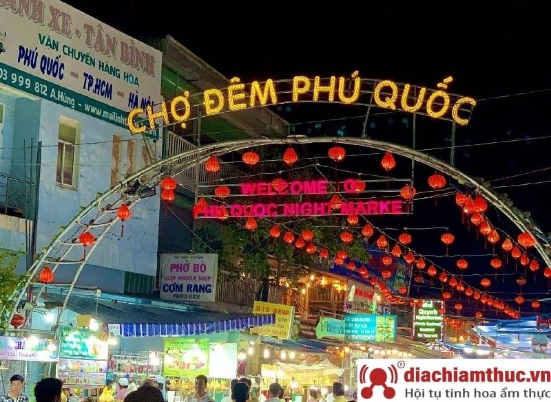 Đôi nét về chợ đêm Phú Quốc