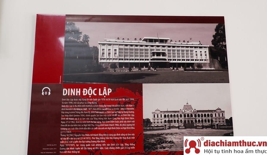 Giá vé từ Dinh Norodom đến Dinh Độc Lập