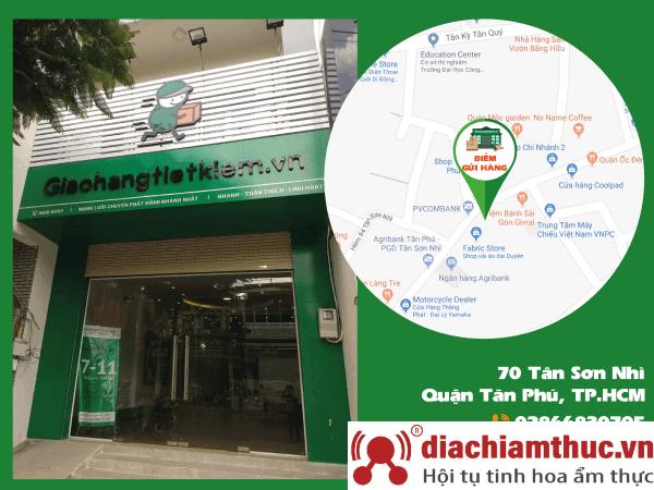 Giao hàng tiết kiệm ở Tân Phú