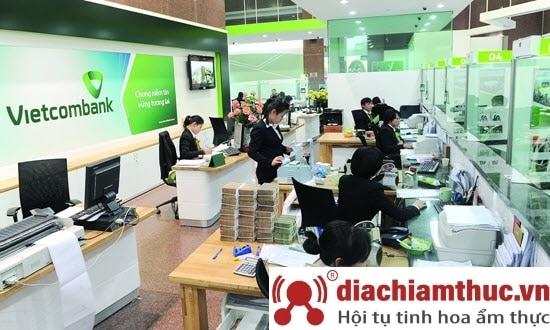 Phòng giao dịch Vietcombank Quận 1