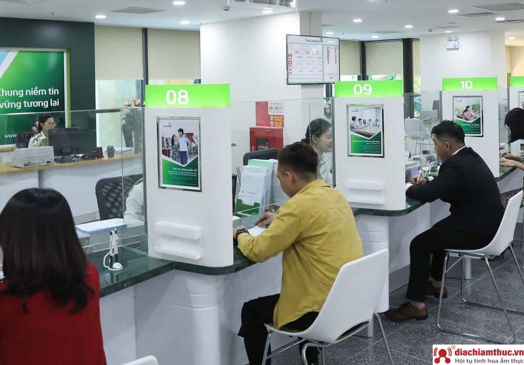 Phòng giao dịch Vietcombank Quận Tân Bình