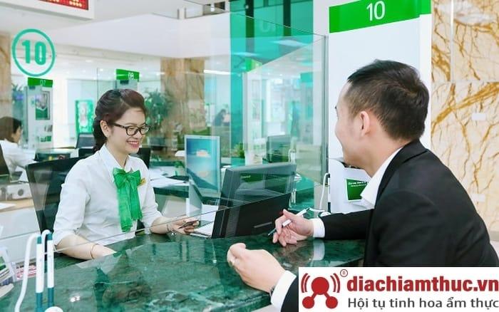 Phòng giao dịch Vietcombank các quận khác
