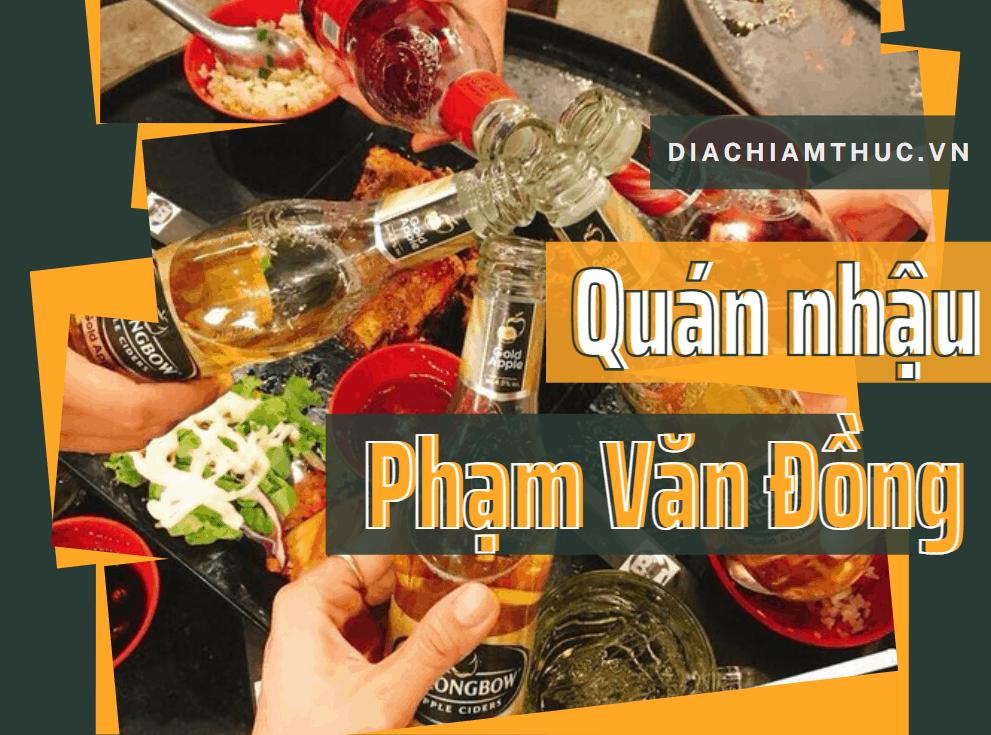 Quán nhậu Phạm Văn Đồng