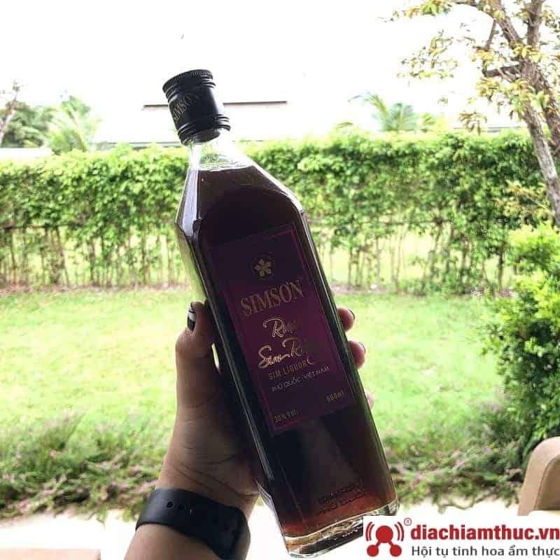 Rượu sim rừng