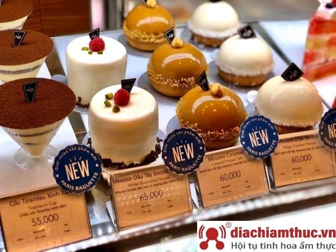 Tiệm bánh kem Paris Baguette