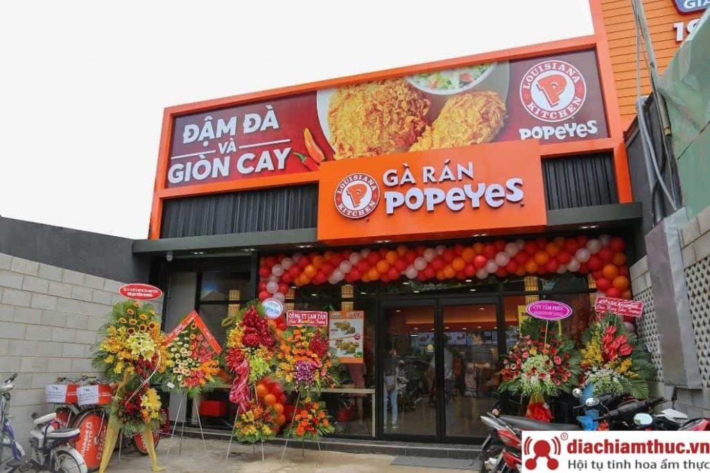 Chuỗi cửa hàng Gà Rán Popeyes