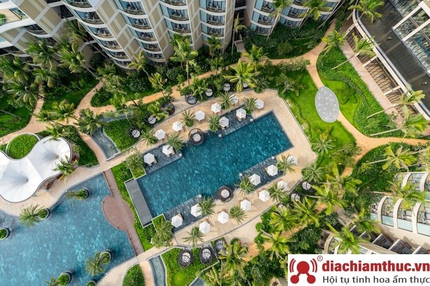 Dạo quanh một vòng intercontinental Phú Quốc Long Beach Resort