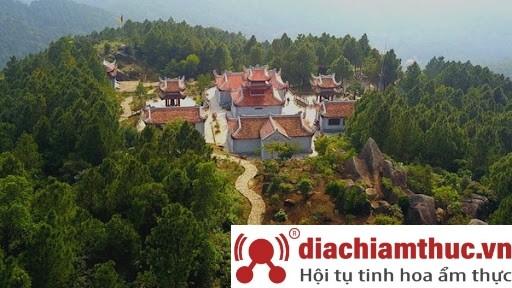 Địa điểm của chùa Hương Tích - Hà Tĩnh