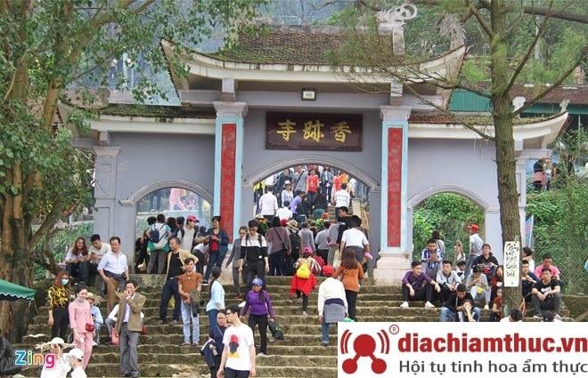 Những lễ hội chùa Hương Tích