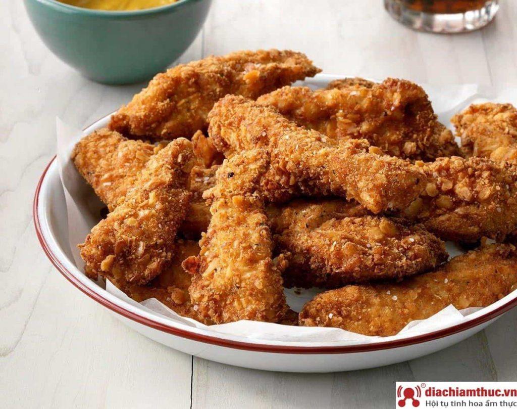 Quán gà rán ngon ở Hóc Môn