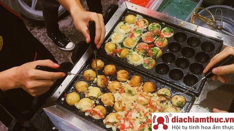 Quán takoyaki tại Quận 10