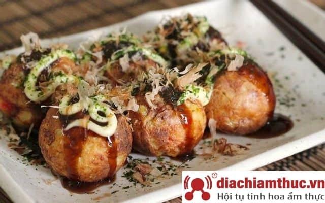 Quán takoyaki tại Quận 7