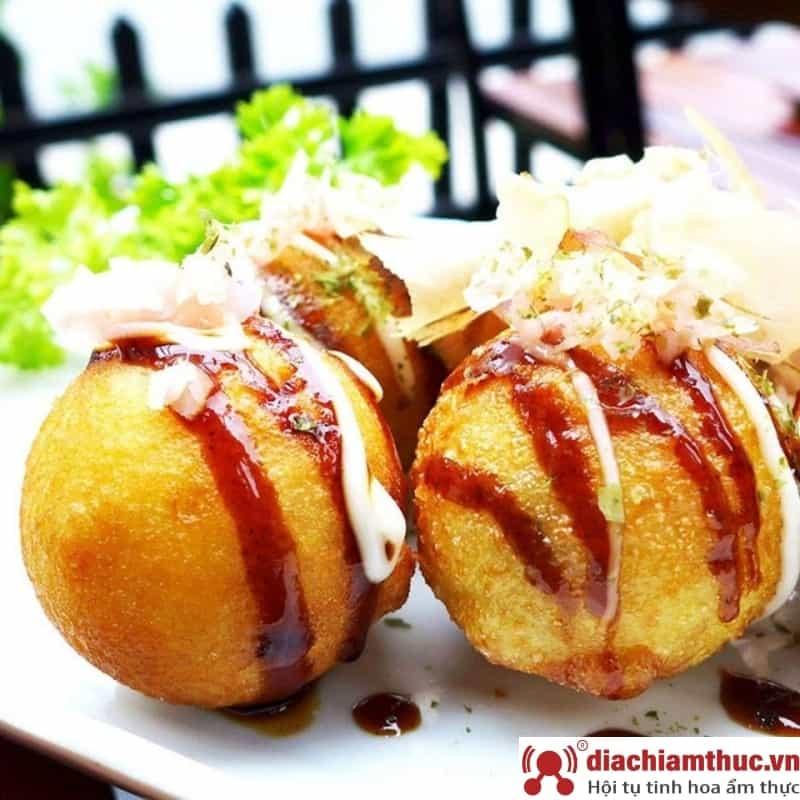 Quán takoyaki tại Quận Bình Thạnh