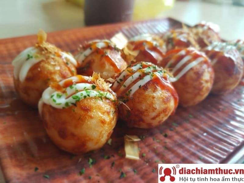 Quán takoyaki tại Quận Gò Vấp