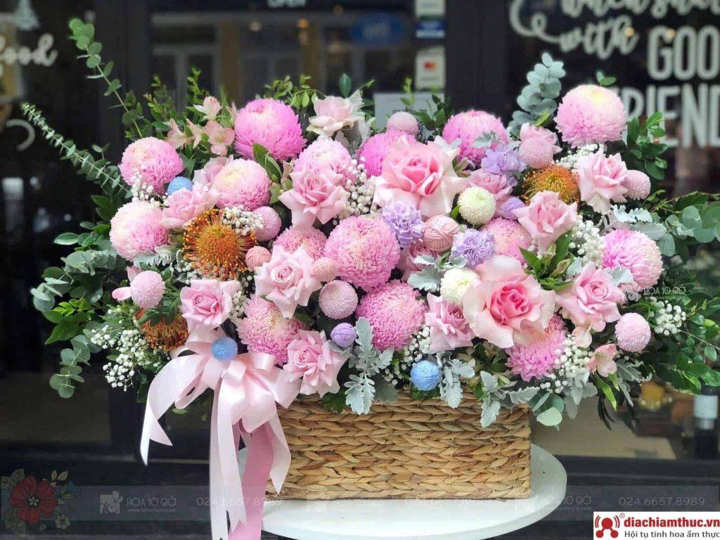 Shop hoa Mười giờ Hà Nội
