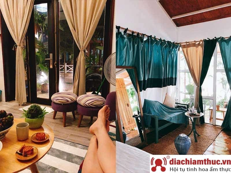 The May Garden Stay & Cafe – Bungalow Gỗ