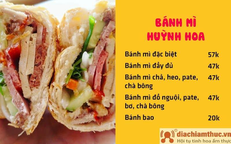 Bánh mì Huỳnh Hoa Lê Thị Riêng Sài Gòn