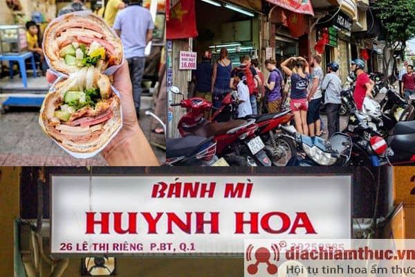 Review chi tiết bánh mì Huỳnh Hoa